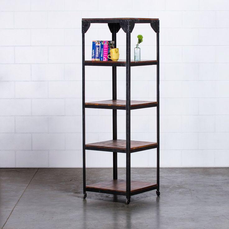 Janis Vintage Storage Shelves - Black | $399.00