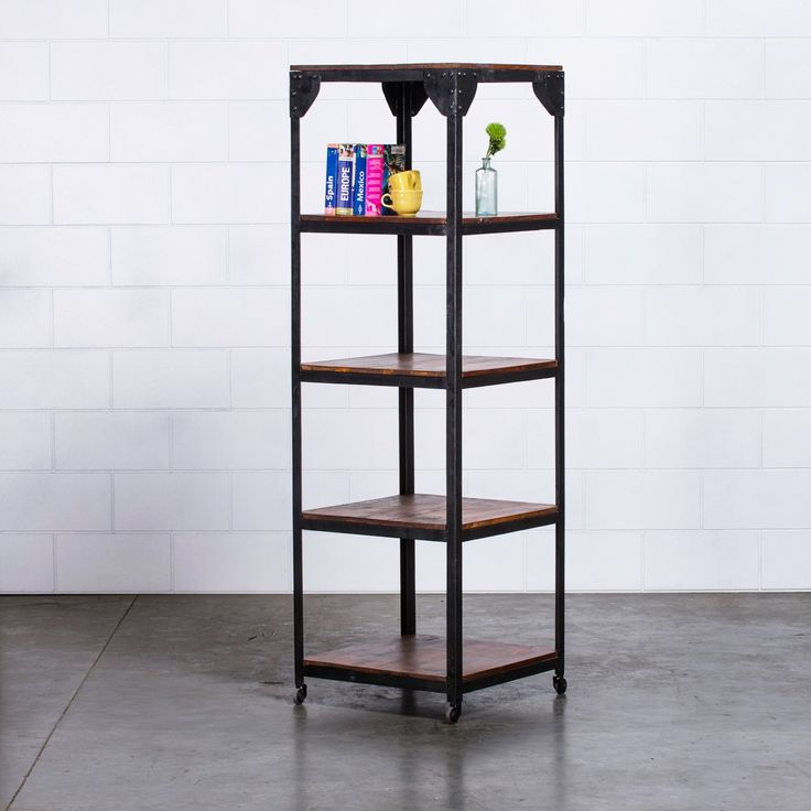 Janis Vintage Storage Shelves - Black | $399.00