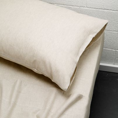 Maison Queen Bed Sheet Set Natural