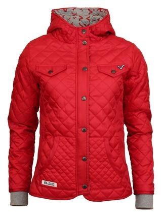 Červená dámská bunda Lady Ellie Voi Jeans 1