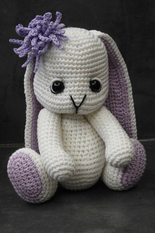 Háčkovaný králíček Bibby - Návod