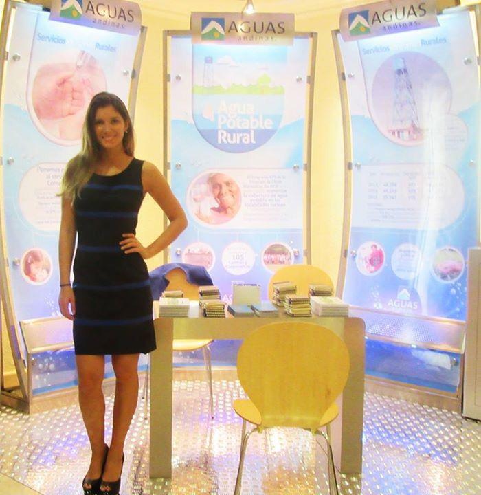 #marketingferial Aguas Andinas en Congreso AIDIS 2016