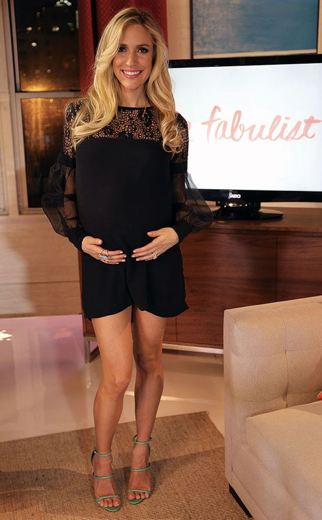 In a Nasty Gal dress and Manolo Blahnik shoes, Kristin Cavallari is ready for episode one of The Fabulist!