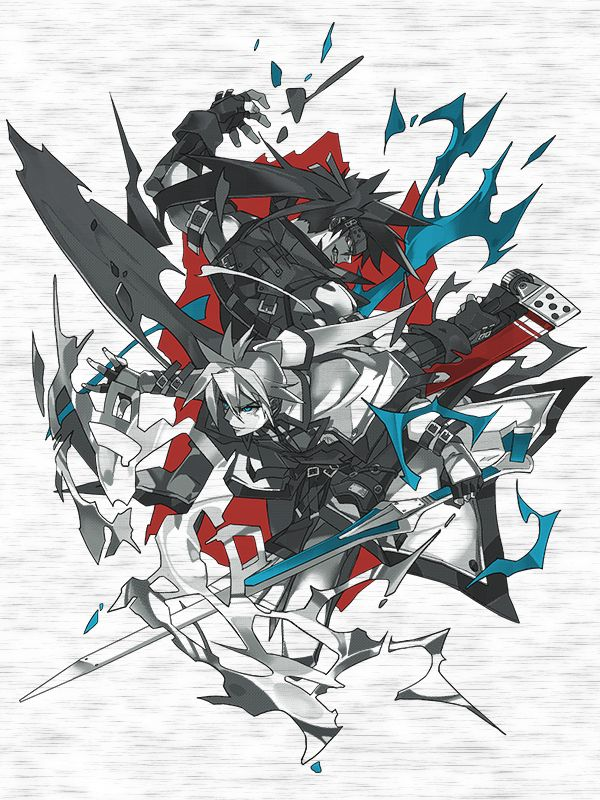 Hope & Free It's difficult to find a rivalry more diametric than that of Solbadguy and Ky Kiske. Often butting heads and clashing swords, this dynamic matchup is captured in this Guilty Gear tee! This