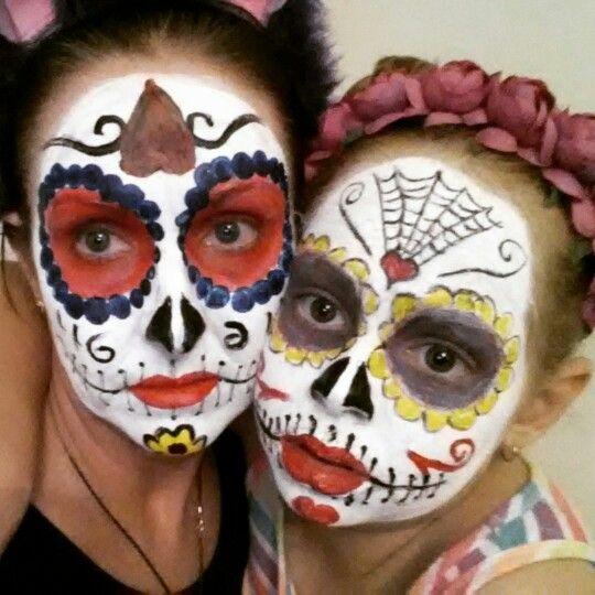 Mummy daughter Halloween
