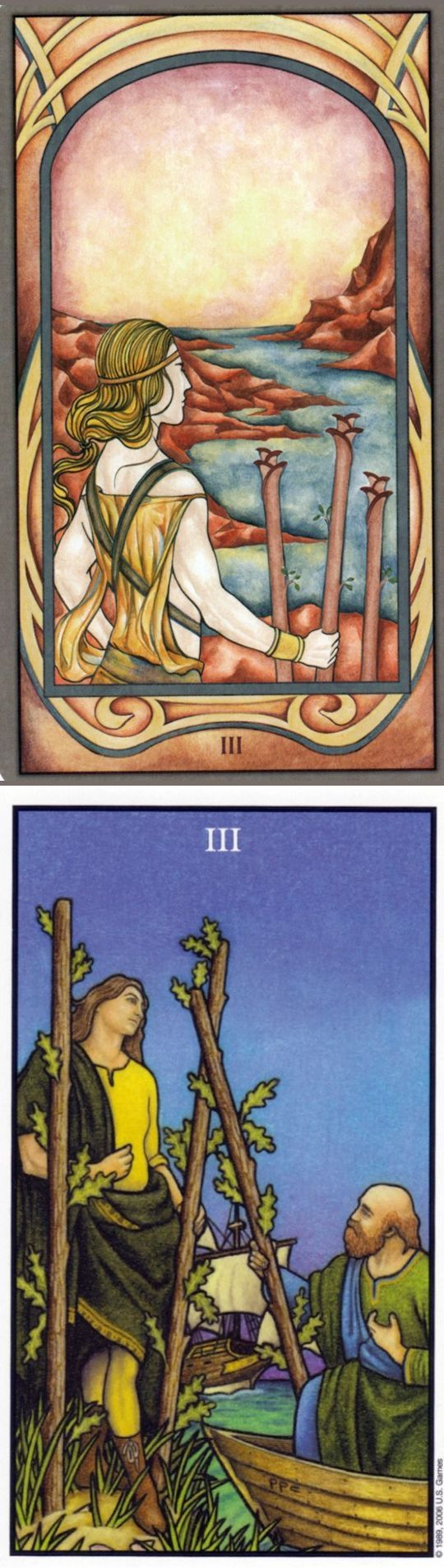 Three of Wands: rapid growth and obstacles (reverse). Fenestra Tarot deck and Connolly Tarot deck: what is tarot reading, tarot online free predictions vs online tarot deck. Best 2017 tarot cards how to read and fortune telling cards. #hierophant #tarotart #hermit #devil