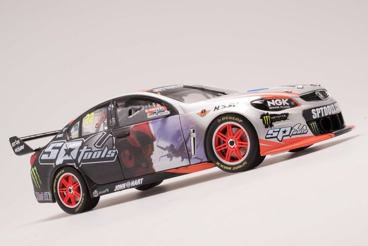 1:18 Scale. Jack Perkins and Russell Ingall #22 HRT Star Wars Livery Holden VF Commodore 2015 Supercheap Auto Bathurst 1000. Model features opening doors and bonnet.   Limited Edition of TBA SRP: $195.00   This model is due 4th Quarter 2015
