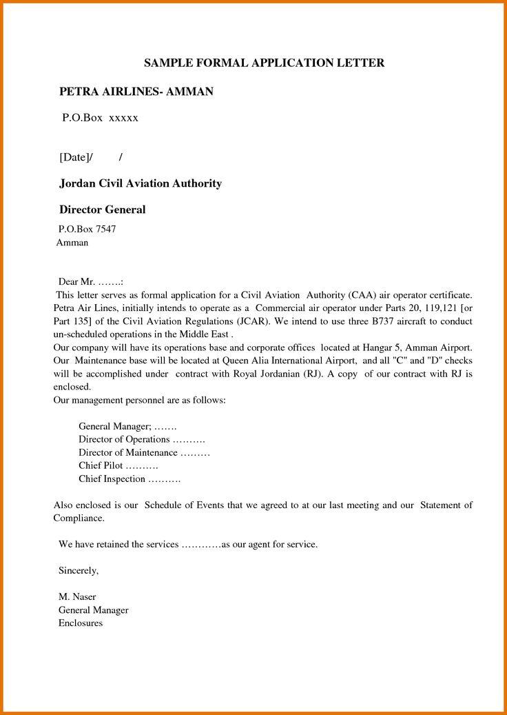 25+ unique Formal letter format sample ideas on Pinterest Letter - credit note sample template