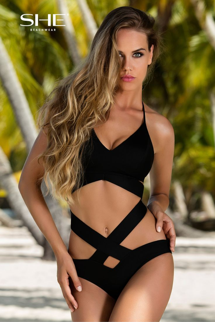 JACKLIN SWIMSUIT. If you are a fun of exclusive and extraordinary look you should buy our JACKLIN swimsuit! The unique criss-cross stripes ideally present your thin waistline, the bra with the softly padded cups and detachable push-ups perfectly fits your bust and is comfortable for a wide range of sizes.