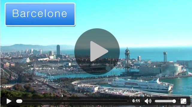 Vidéo d'information touristique sur la ville de Barcelone : informations de voyage, histoire, carte et lieux d'intérêt pour vos vacances à Barcelone.
