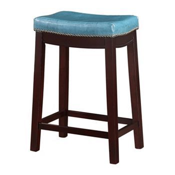 Linon Allure Counter Stool Brown Colors We And Turquoise