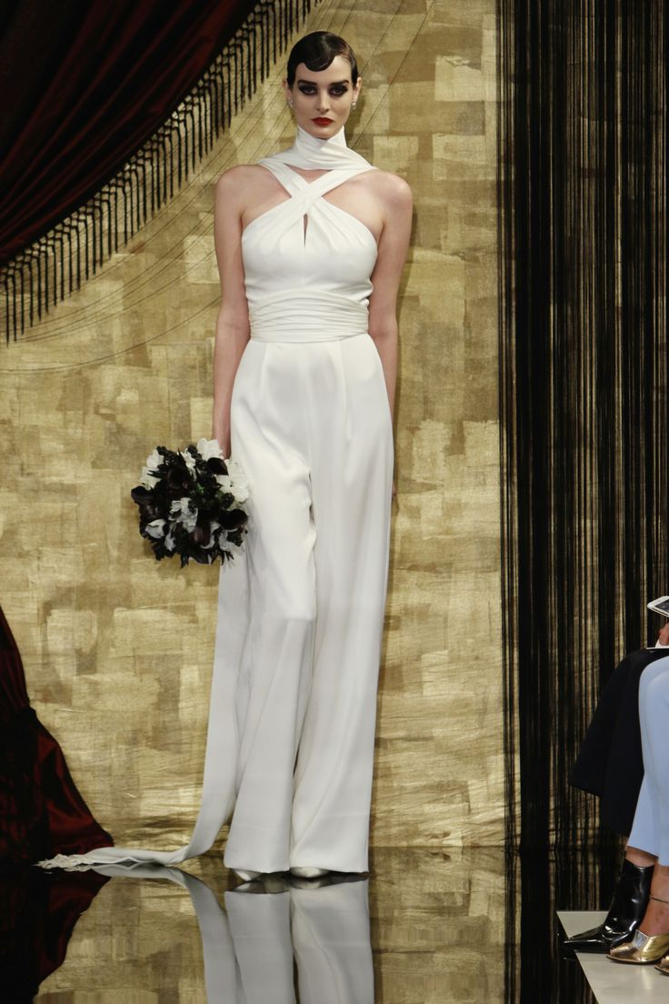 Unique wedding dress alternative wedding dress alternate wedding - Bridal Jumpsuits And Trouser Suits Wedding Dress Alternatives