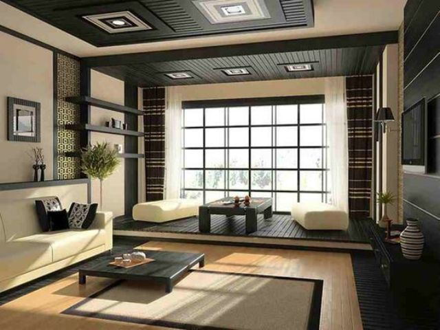 14 id es inspirantes pour d corer le salon avec style japonais  Design RoomRoom Best 25 Japanese living rooms ideas on Pinterest