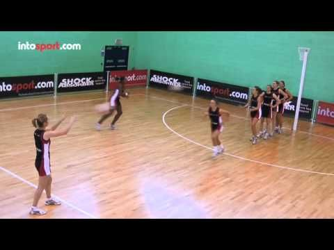 Netball Team Passing Drill- Changing Speed and Direction