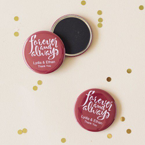 Personalized Forever and Always Magnets