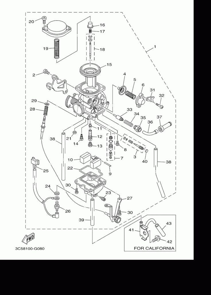 Yamaha Xt8 Engine Diagram di 2020