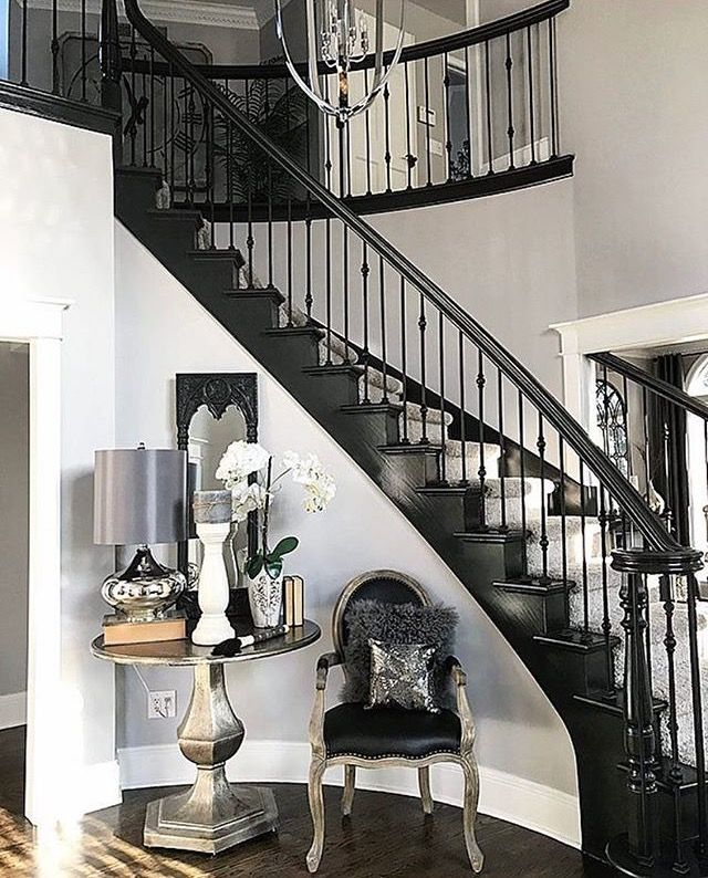 Best 25+ Black staircase ideas on Pinterest   Stairs ...
