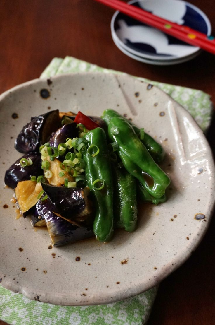揚げナスとピーマンのにんにく醤油漬け by 楠みどり | レシピサイト「Nadia | ナディア」プロの料理を無料で検索