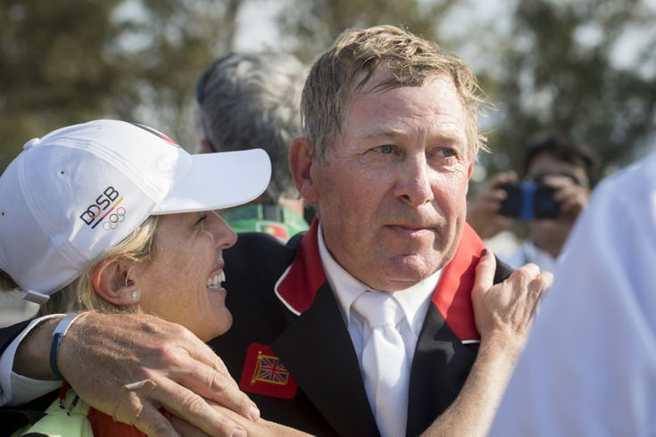 There was a lot of crying in Rio today. Show jumping legend Nick Skelton (GBR)…