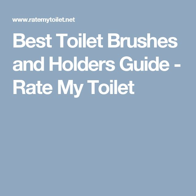 Best Toilet Brushes and Holders Guide - Rate My Toilet