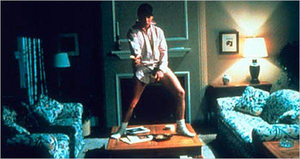 Tom Cruise single handedly made plain white socks a star in Risky Business
