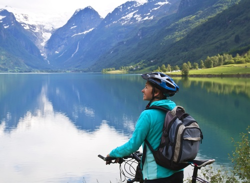 Mountain bike in Bariloche