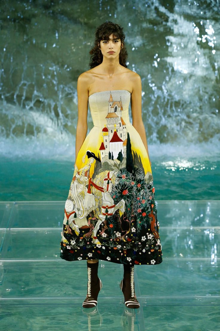Inside Fendi's Takeover of the Trevi Fountain in Rome Today