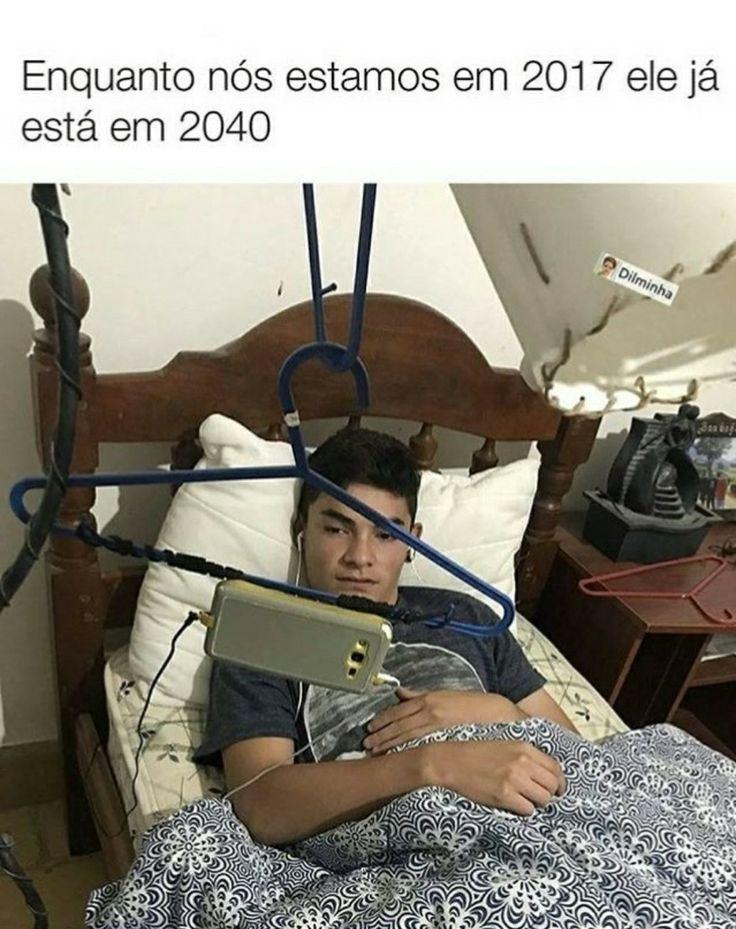 Agr estamos em 2018 e ele em 2051 (porque pessoas a frente de seu tempo não viram um mas vim dez anos)