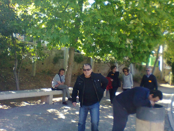 Tourguides at Alhambra