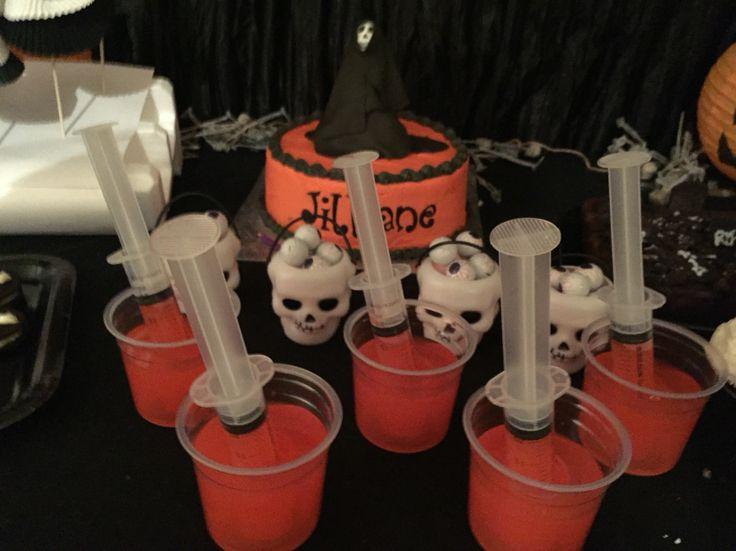 Bloody Halloween Drinks