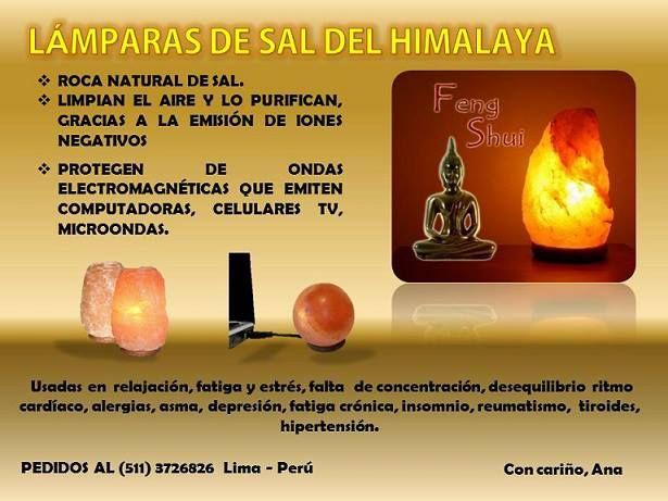 9 best feng shui l mpara de sal del himalaya images on - Feng shui para la salud ...