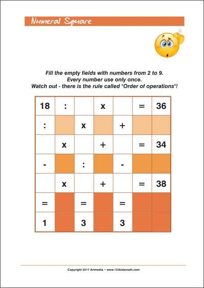55 best Math worksheets, riddles and other activities images on ...