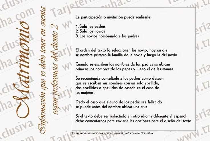 Tzutuha,Tarjetería y accesorios exclusivos para eventos sociales ..: Sugerencias para diseñar el texto de sus tarjetas