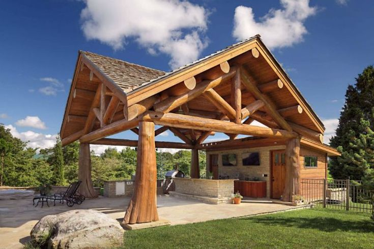 43+ Beautiful Backyard Pavilion Ideas (With Pictures) for ...