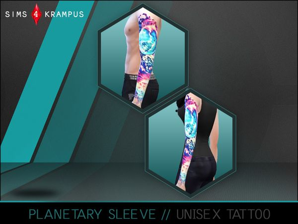how to make a sleeve tattoo on sims 3
