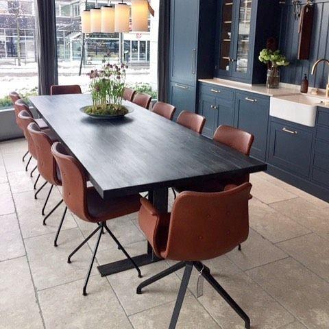 Primum Dining Chairs in Kvänum Oslo's Kitchen Studio.