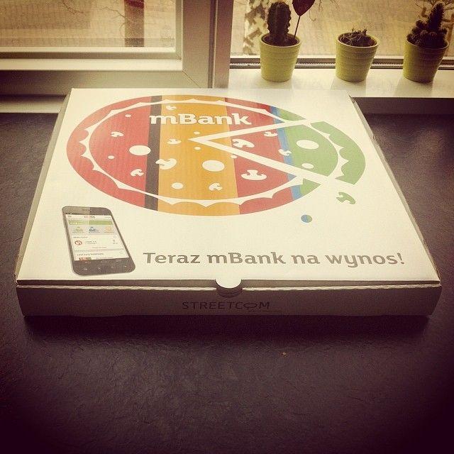 Dzisiejszy obiad sponsoruje mBank #aplikacjamBanku http://instagram.com/p/l2Yp1yQeu7/