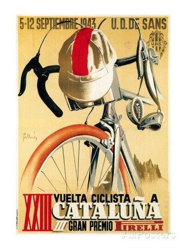 Volta Ciclista a Catalunya, 1943 Posters at AllPosters.com