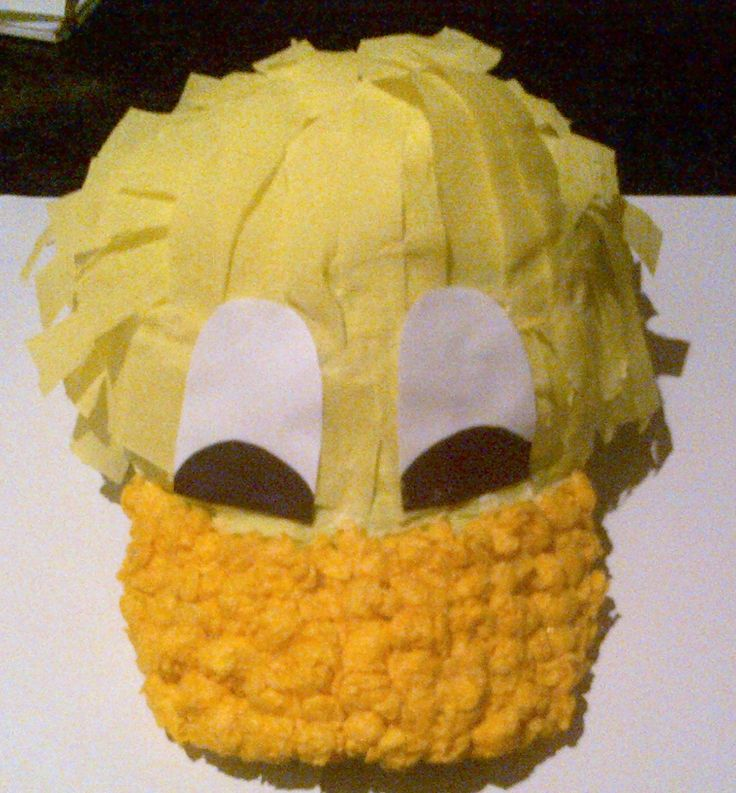 Easter Bonnet idea for boys.. originally seen on mum's net... but this is the one created by Maxwell and I