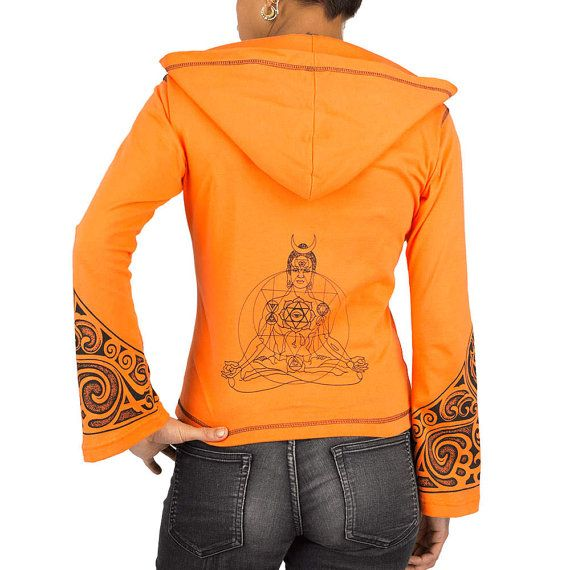 BOUDDHA veste zippée femme, sweat léger imprimé tribaux, Bouddha, vêtements de yoga, trance, motifs psychédéliques, tribal Maori, Fait main Matériaux : Coton, veste sweat zippée, imprimés tribaux, Bouddha, tatouage Maori, Poches, capuche / BUDDHA zip woman jacket, lightweight sweatshirt tribal print, Buddha, yoga wear, trance, psychedelic patterns, tribal Maori, Handmade Materials: Cotton, hooded zip jacket, tribal prints, Buddha, Maori tattoo, pockets, hood,