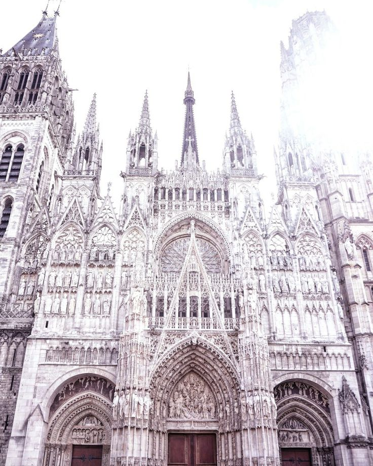 rouen cathedral gothic architecture