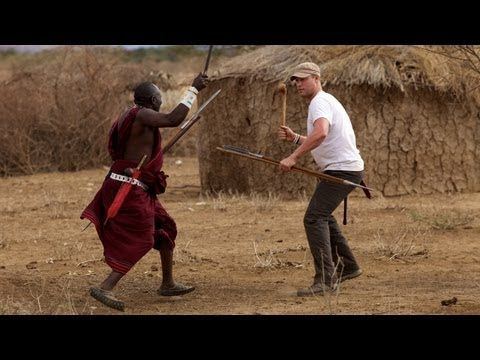 Spear and Rungu Throwing - YouTube
