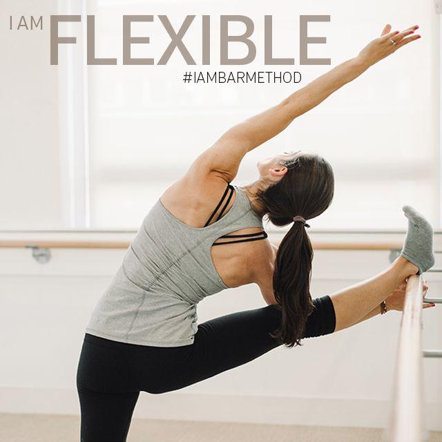 """I have seen my flexibility increase dramatically."" #IAMBARMETHOD"