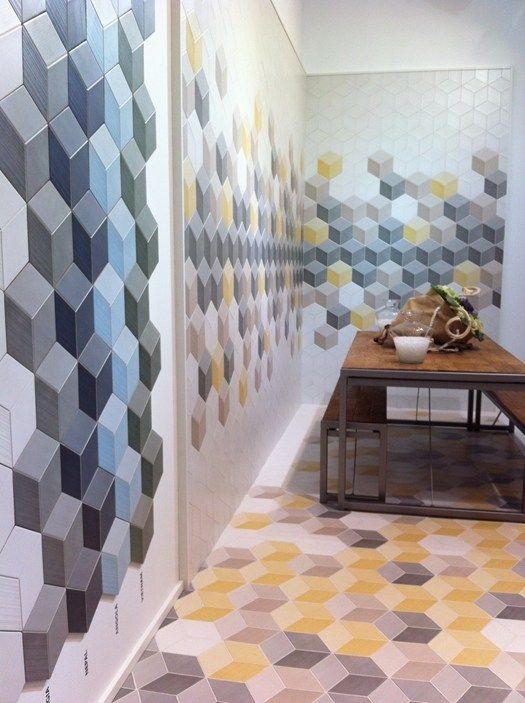 Love these tiles  THE CERAMIC NATUCER SUGGEST A CEVISAMA