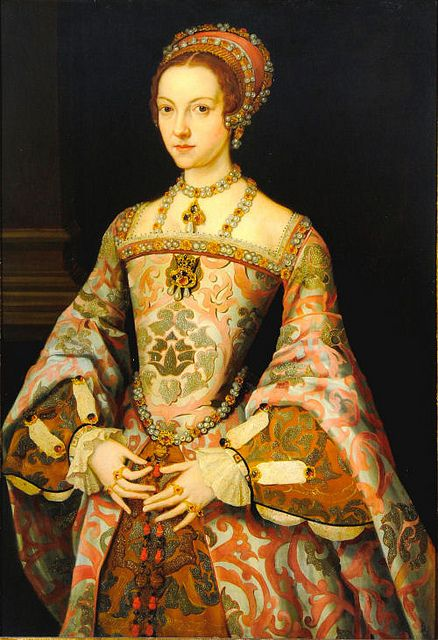 Katherine Parr, Sixth Wife of King Henry VIII... Actually can trace our family back to a cousin of hers!