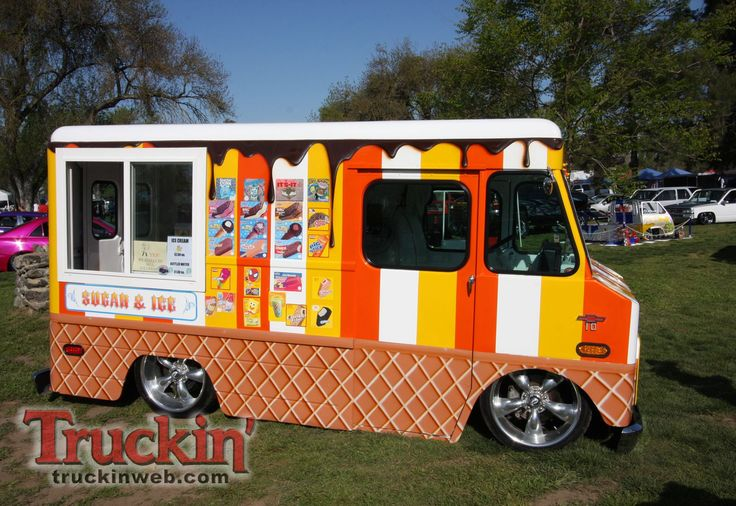 30 Best Ice Cream Trucks Images On Pinterest