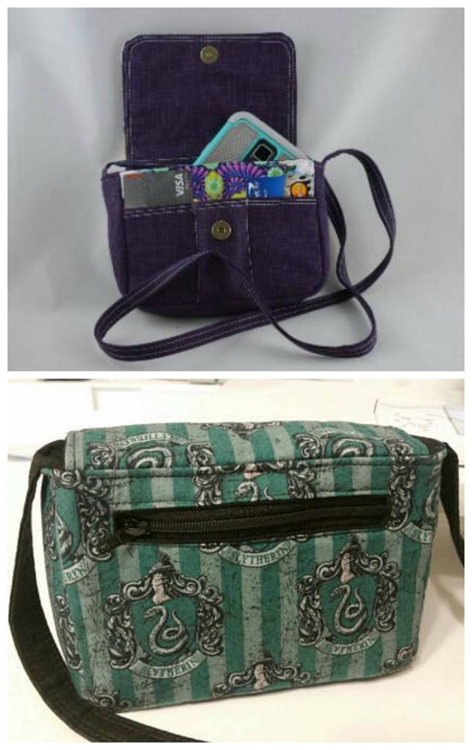 9b6b1952cac5 This is a downloadable PDF sewing pattern for a small crossbody purse.