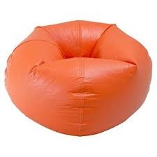 orange bean bag chair I have always wanted one of these
