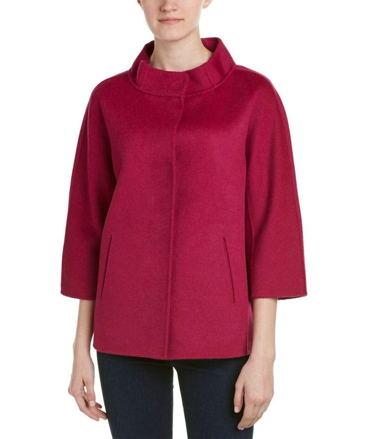Forte Cashmere Forte Cashmere Wool & Cashmere-Blend Jacket