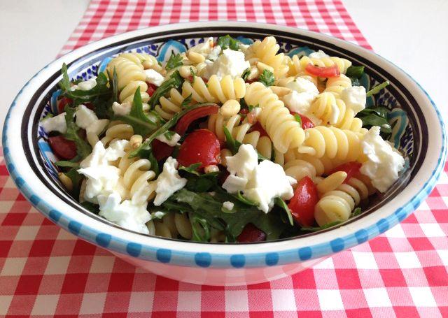 Pastasalade   Het lekkerste recept vind je op AllesOverItaliaansEten